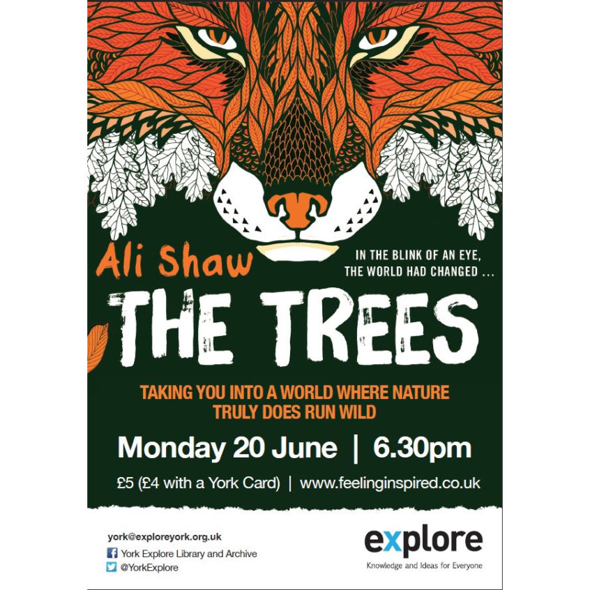 The Trees event at York Explore